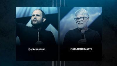 JB Carvalho e Claudio Duarte