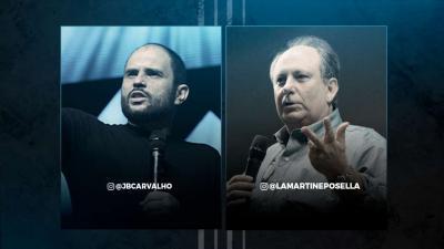 Live JB Carvalho e Lamartine Posella