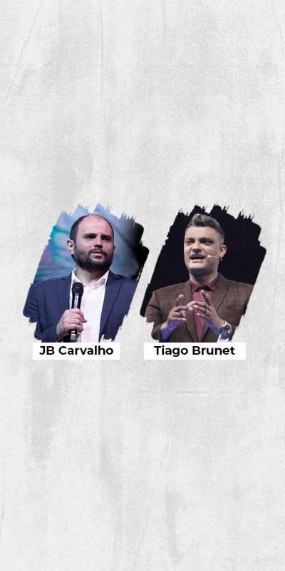 Live JB Carvalho e Tiago Brunet