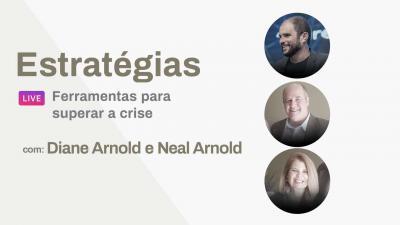 Live JB Carvalho com Diane e Neal Arnold - Ferramentas para superar a crise
