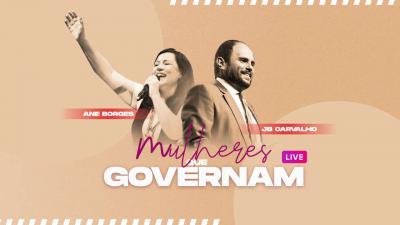 Live JB Carvalho e Ane Borges - Mulheres Que Governam