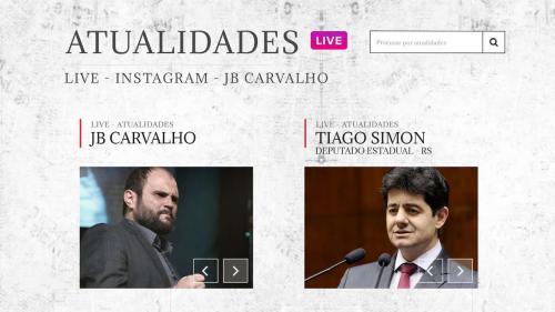 Live  JB Carvalho